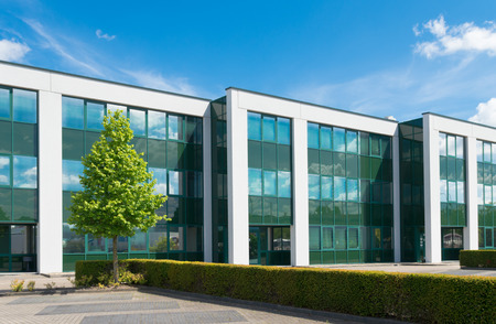 exterior of a modern office building Stock Photo - 30919490