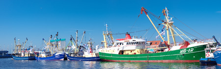 fishing fleet: dutch fishing boats in the Urk harbor. Urk has by far the largest fishing fleet and fish processing industry in the Netherlands.