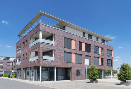 small modern office building
