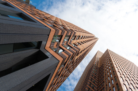 one of the towers of the World Trade Center Amsterdam. It is a commercial center in the South Axis in Amsterdam (Netherlands) with more than 125,000 square meters of office space. Editorial