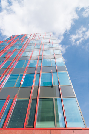 exterior of the WTC building in Almere, netherlands. It is one of the ten WTC establishments in the country