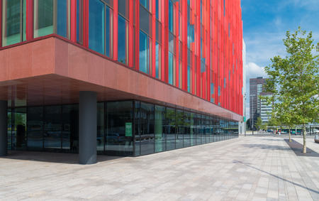 wtc: exterior of the WTC building in Almere, netherlands. It is one of the ten WTC establishments in the country