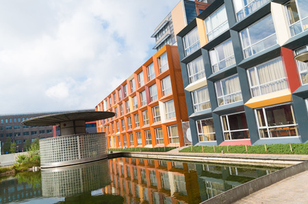 accommodation space: modern student apartments in the hague, netherlands