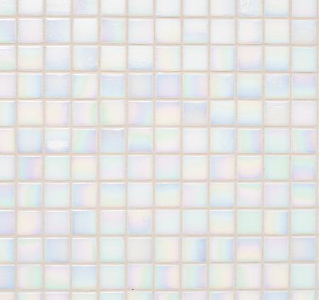 ピンクの小さな青いタイルの背景 写真素材