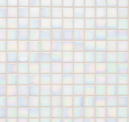 background of small pinkish blue tiles