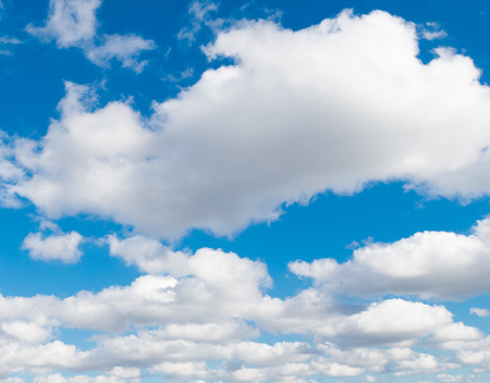 cloudscapes: blue sky with nice cloudscapes