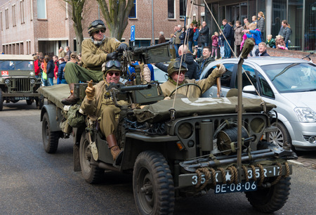 maintains: Military parade by keep them rolling, a foundation who maintains military vehicles with the purpose of keeping the 2nd WW memories alive