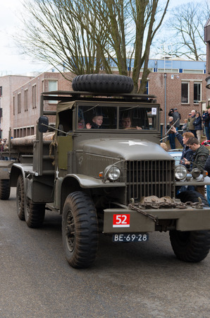 them: Military parade by keep them rolling, a foundation who maintains military vehicles with the purpose of keeping the 2nd WW memories alive
