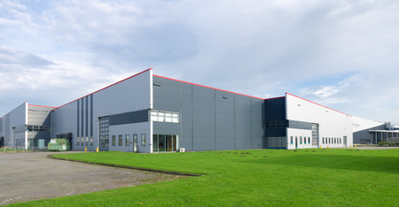 large industrial warehouse in the netherlands