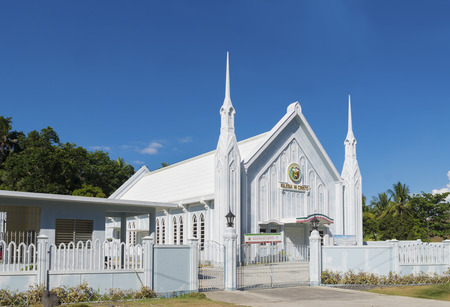 church buildings: catholic white church in the Philippines. Iglesia ni cristo means in Philippine language (tagalog) church of christ. It stands for the largest independent christian church in asia.