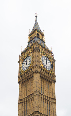 big ben tower: Famous Big Ben tower clock in London