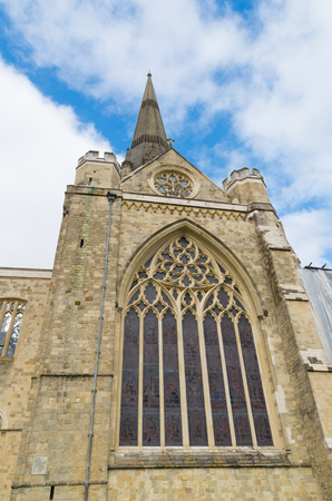 11th century: part of the Chichester cathedral. The Chichester Cathedral, founded in the 11th century, is dedicated to the Holy Trinity, and contains a shrine to Saint Richard of Chichester.
