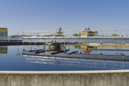 Moden urban wastewater treatment plant