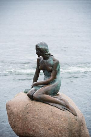 The Little Mermaid (Danish: Den lille Havfrue) is a bronze statue by Edvard Eriksen, depicting a mermaid.