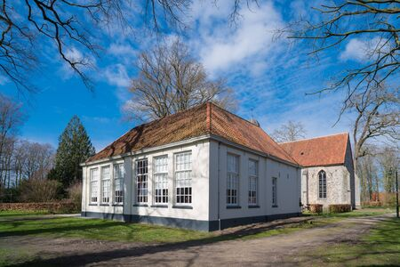 former elementary school building in