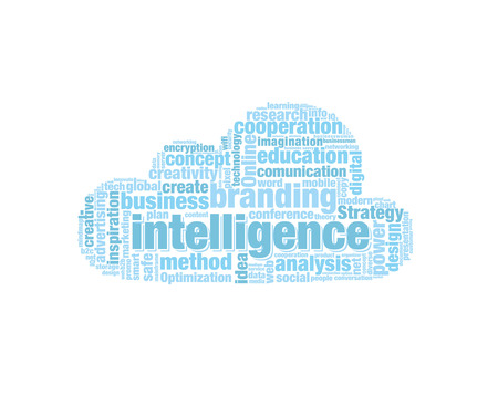 codex: Word Cloud Illustration Illustration