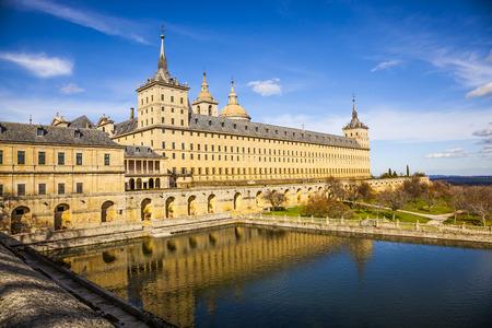 Palacio Escorial, cerca de Madrid, España Foto de archivo - 46030901