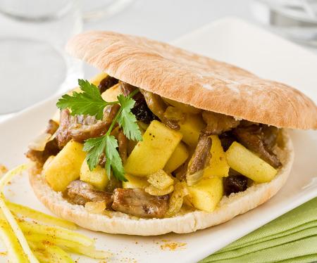 pita: Pita bread Stock Photo