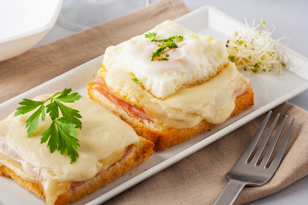 Croque monsieur and croque madame