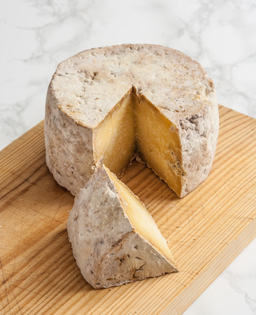 Gamonedo is a lightly smoked cheese made in the region of Asturias, Spain