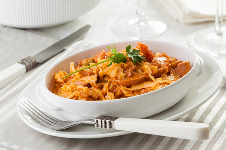 goulash: Meat goulash traditional food, typical for Transylvania.