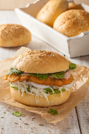 typical: The cemita poblana is a typical sandwich from Mexico sold as street food.