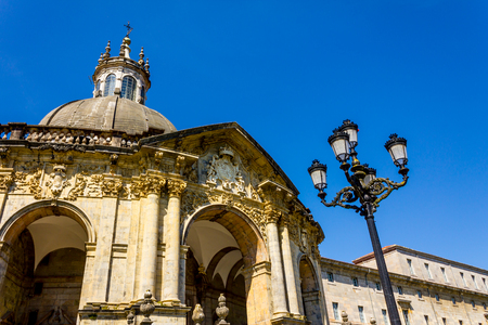 basque country: Shrine and Basilica of Loyola, between the towns of Azpeitia and Azcoitia. Stock Photo