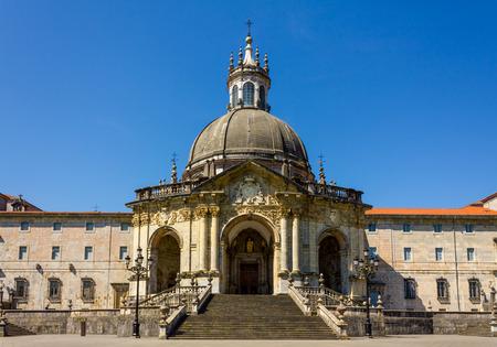 ignacio: The Sanctuary of Loyola (Gipuzkoa, Spain) Stock Photo