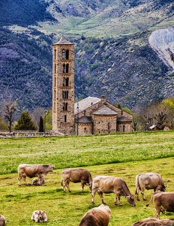 desolated: Spain Catalonia Bohi-Valley Romanesque church.