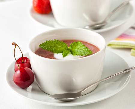 Kissel is a popular fruit dish, served as a dessert and as a drink.