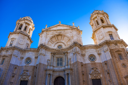 The Cathedral of the city of Cadiz, Andalusia, Spain.