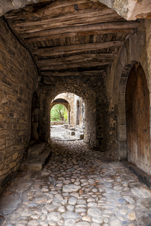 Old village of Montanana, Huesca Province, Aragon in Spain