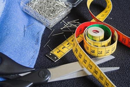 Tools für ein Schneider  Standard-Bild - 9826509