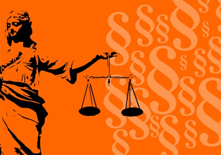 paragraf: justice with equity Stock Photo