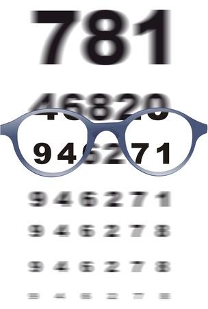 eyesight: eyesight, sight Stock Photo