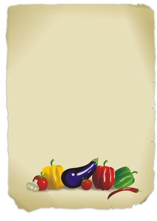 south italy: menu card