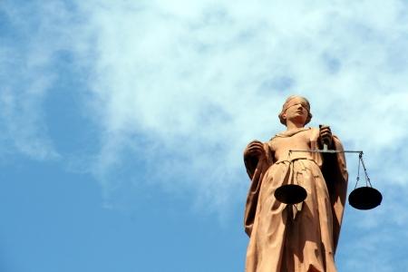 gerechtigkeit: Justitia, die G�ttin der Gerechtigkeit