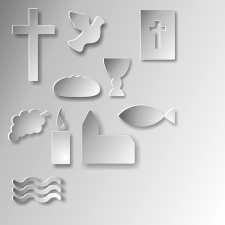 christian symbols  photo
