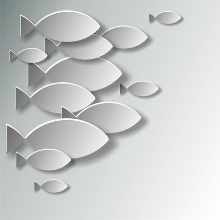 christian symbol fish Imagens - 26824458