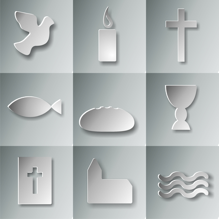 first holy communion: 9 christian symbols