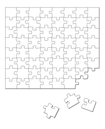 incomplete: white puzzle