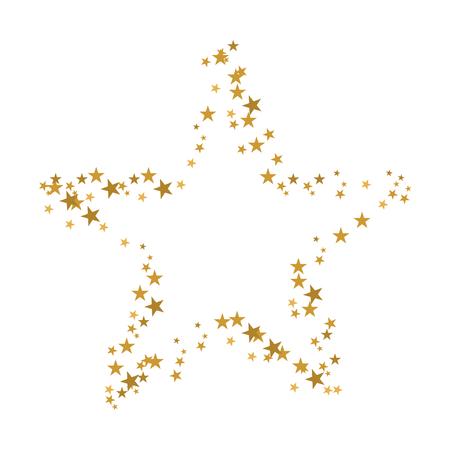 黄金のクリスマスの星