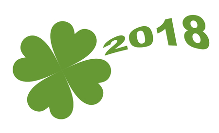 fourleaved: Cloverleaf and the date 2018