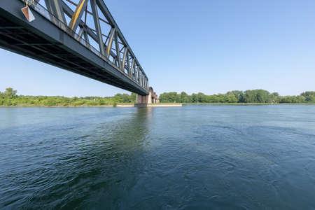 Rhine bridge at Windersdorf