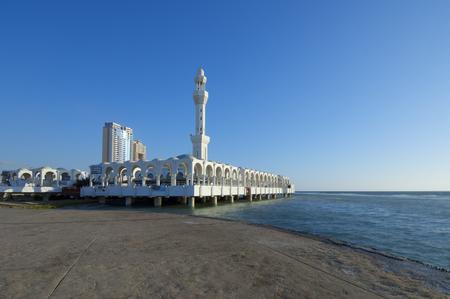 Al Rahma Mosque at Jeddah Cost, Saudi Arabia