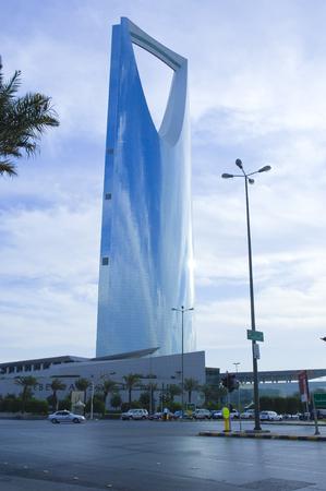 RIYADH - December 15: Kingdom Tower Skyscaper and Surroundings on December 15, 2005 in Riyadh, Saudi Arabia.