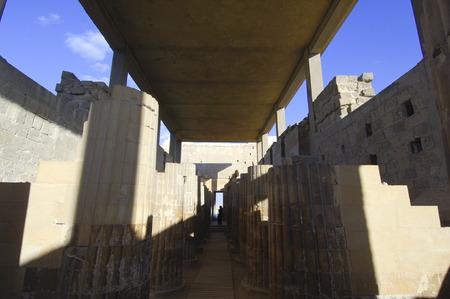 Archeological sight near Saqqara Pyramid in Giza, Cairo, Eqypt
