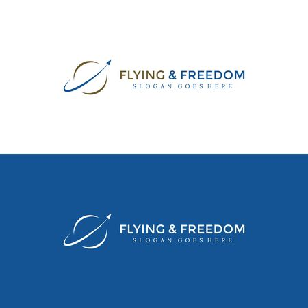Flying & Freedom Business Logo for your best company