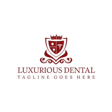 Luxurious Dental Logo for your best company