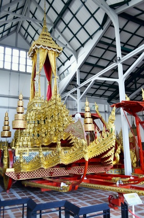 gold: Museum The Royal Chariot of Great Victory.